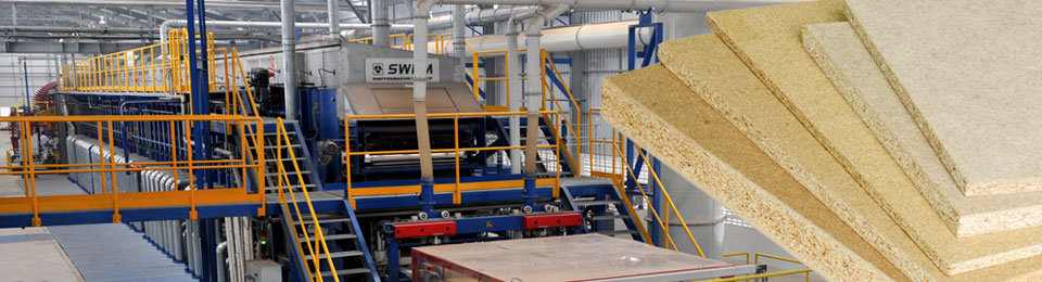 that you can still produce competitively with our innovative and resource-saving wood-based panel plants